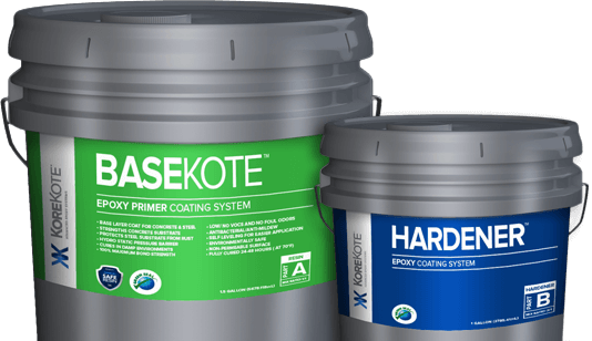 Epoxy Coating Korekote Faster Cure Stronger Coat