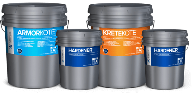 KoreKote Epoxy Coating Kits