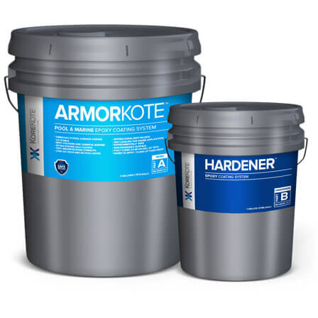 KoreKote Amorkote Pool & Marine Epoxy coating System