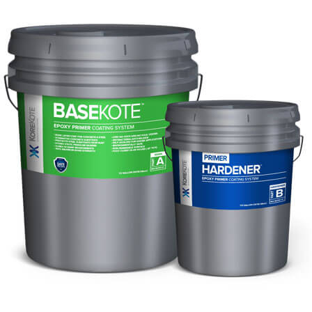 KoreKote BaseKote Epoxy Primer coating System