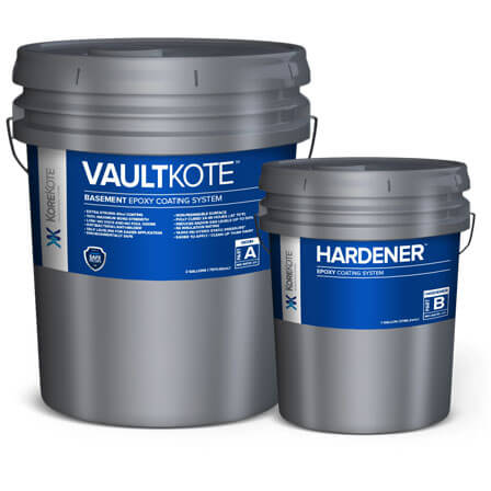 KoreKote VaultKote BASEMENT EPOXY Coating System