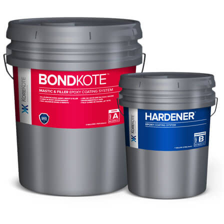 KoreKote BondKote Mastic & Filler Epoxy coating System