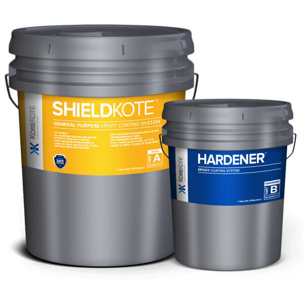 KoreKote ShieldKote General Purpose Epoxy coating System
